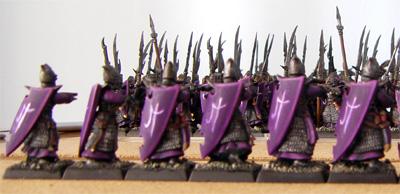 Dark Elf Repeater Crossbowmen (rear view)
